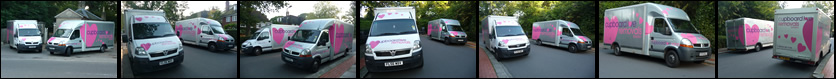 Cupboard Love Removals - our vehicles